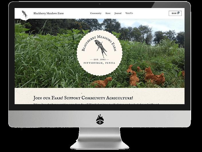Screenshot of blackberrymeadowsfarm.com