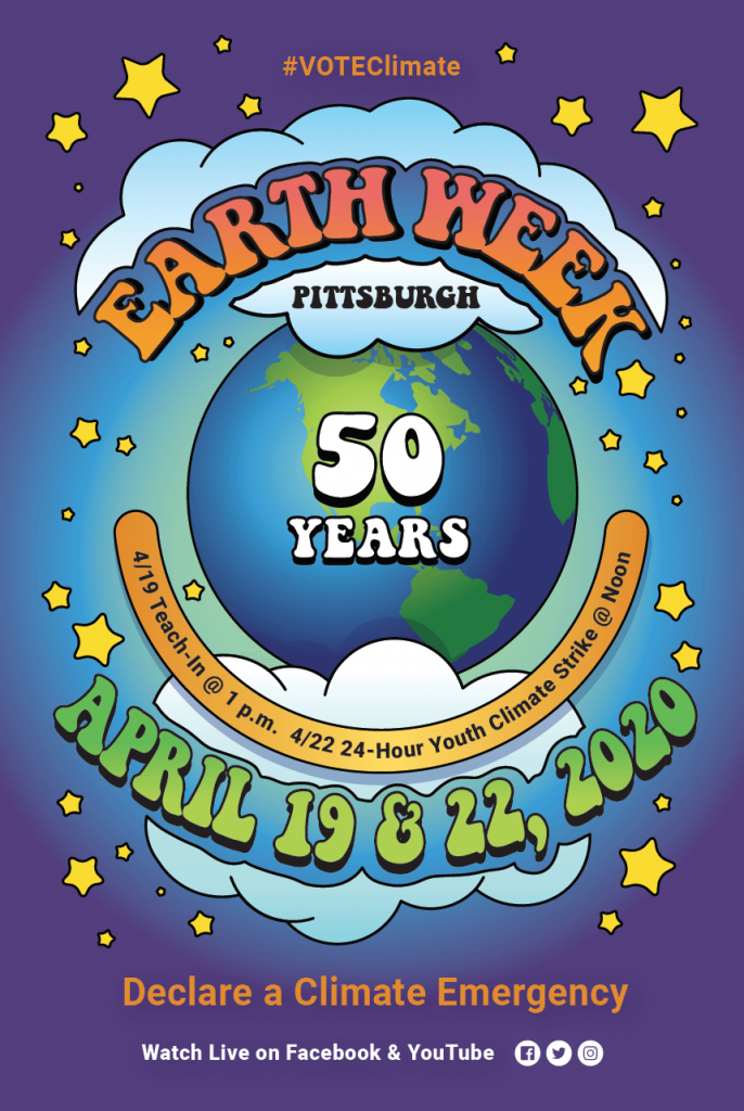 Earth Week Pittsburgh Poster